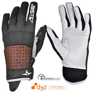 All-Star BG4000 Protective Baseball Batting Gloves