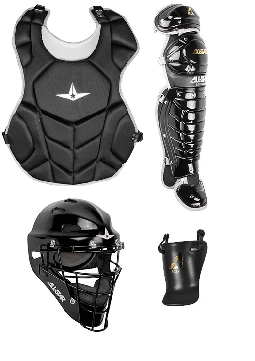 All Star Age 9-12 League Series NOCSAE Catcher's Set